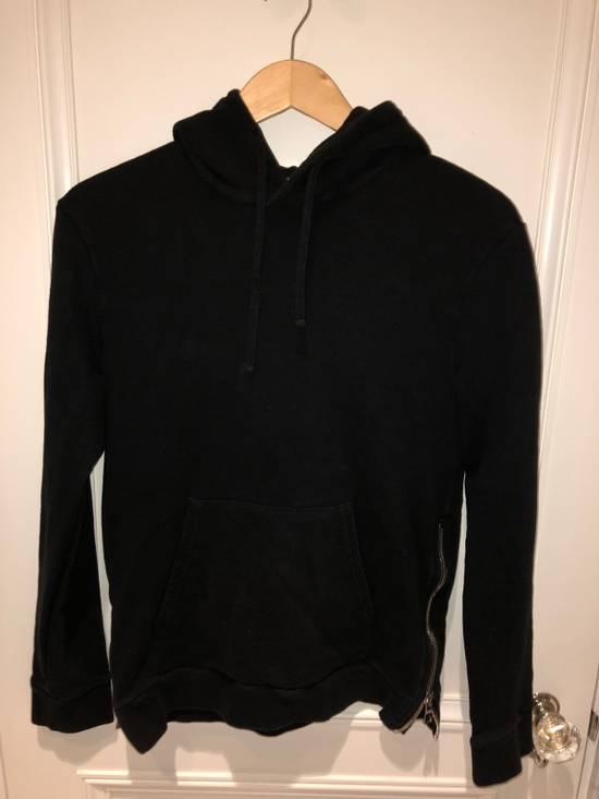 Balmain Balmain Black Hoodie With Sidezips Size US S / EU 44-46 / 1