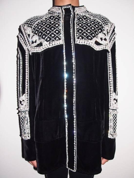 Balmain Balmain Fall 2012 Swarovski Crystal & Pearl Jacket Size US XL / EU 56 / 4
