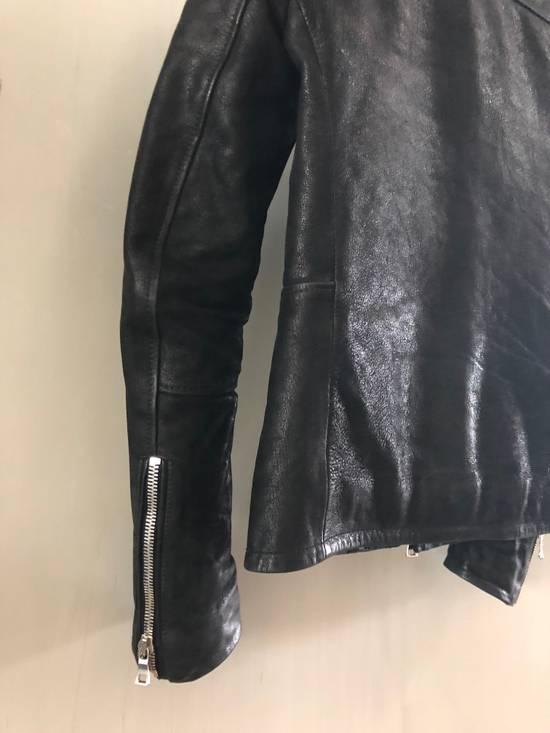 Balmain Biker leather jacket by Chistophe D for balmain Size US M / EU 48-50 / 2 - 1