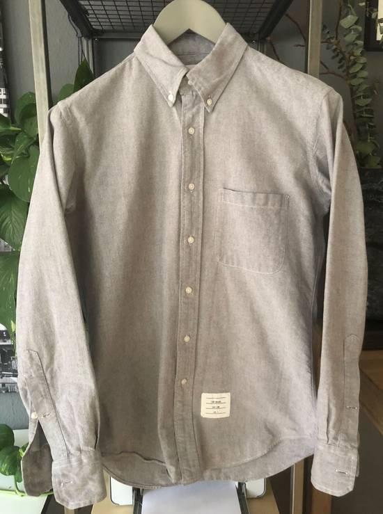 Thom Browne Oxford Classic Shirt Sz.2/M rare grey Size US M / EU 48-50 / 2