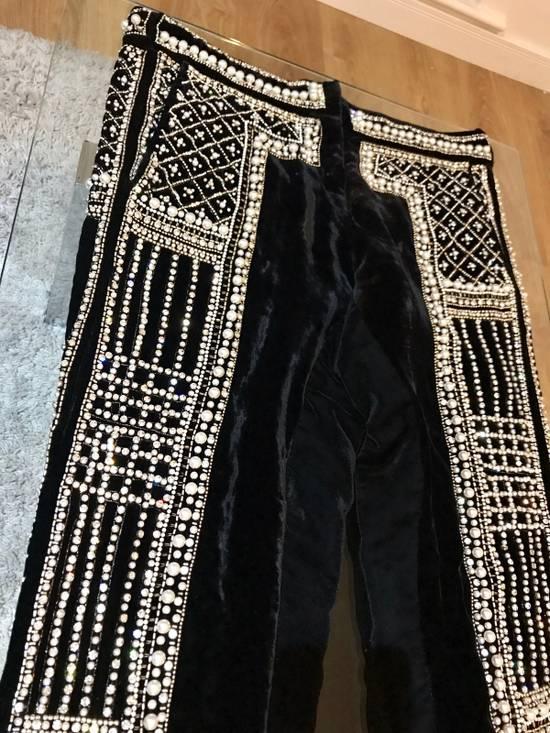 Balmain Balmain Fall 2012 Swarovski Crystal Fabergé Trouser Size US 32 / EU 48 - 4