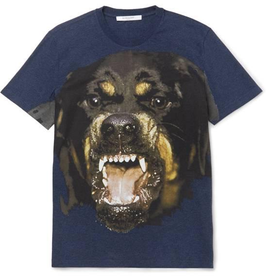 Givenchy Blue Rottweiler T-shirt Size US M / EU 48-50 / 2 - 1