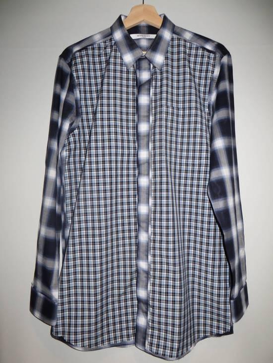 Givenchy Contrast check shirt Size US M / EU 48-50 / 2