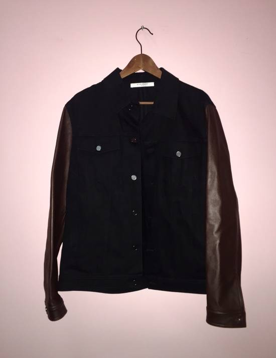 Givenchy Denim and Leather Jacket Size US L / EU 52-54 / 3