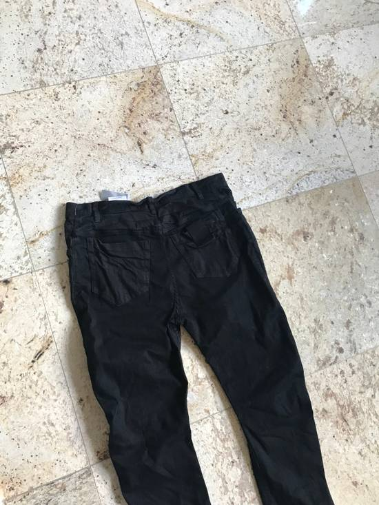 Julius 2-3-4 / 577PAM13 Knee Slit Distressed 11.5 Oz Denim In Black Size US 34 / EU 50 - 15