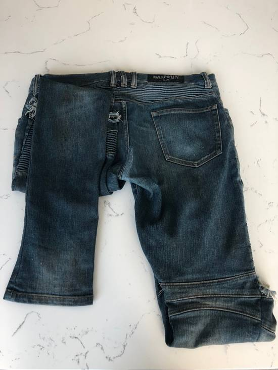 Balmain balmain biker ripped jean Size US 32 / EU 48 - 7