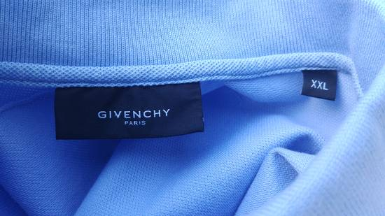 Givenchy Givenchy Baby Blue Rottweiler Patch Slim Fit Polo Shirt T-shirt size XXL (L) Size US L / EU 52-54 / 3 - 7