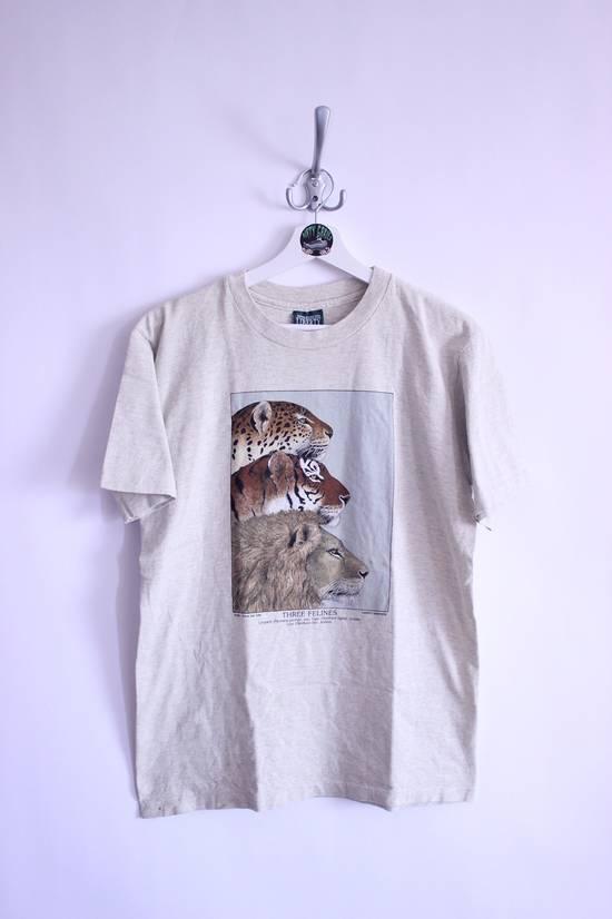 Tee Shirt Vintage Animal Busch Gardens Zoo Single Stitch T Shirt 1991 Size US M / EU 48-50 / 2