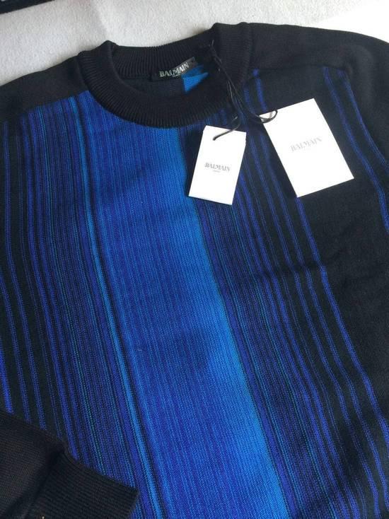 Balmain Balmain $690 Men's Black Sweater Size S Brand New With Tags Size US S / EU 44-46 / 1 - 1