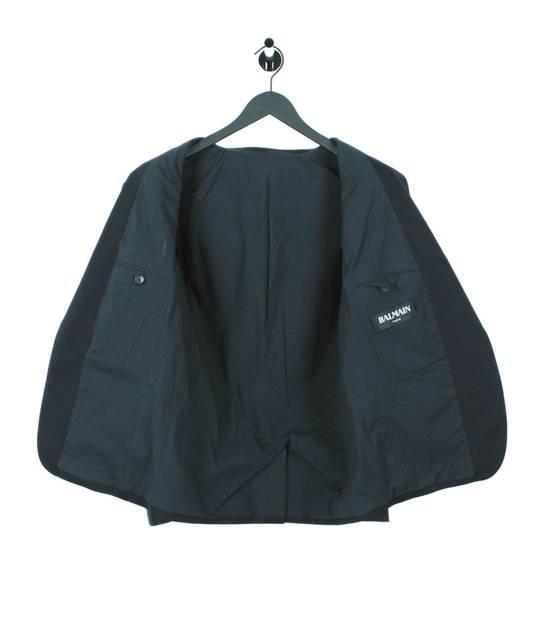 Balmain Original Balmain Dark Blue Men Blazer Jacket in size 54 Size 44R - 5