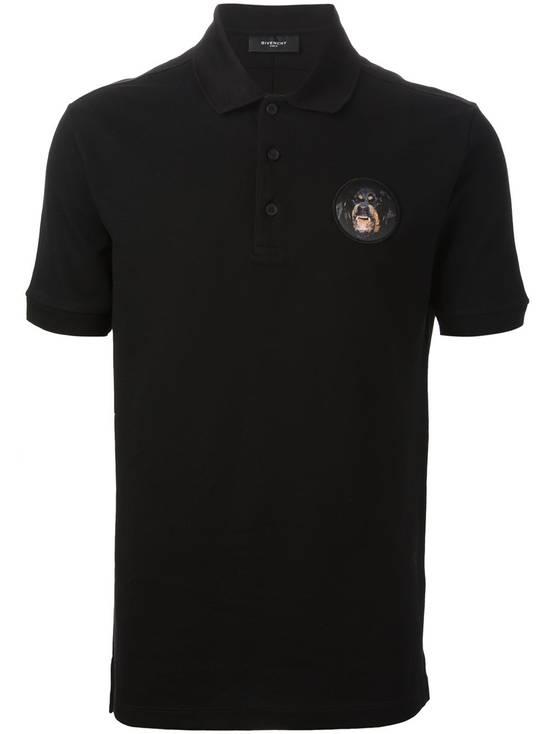 Givenchy Givenchy Black Rottweiler Patch Slim Fit Polo Shirt T-shirt size L (M) Size US M / EU 48-50 / 2 - 1