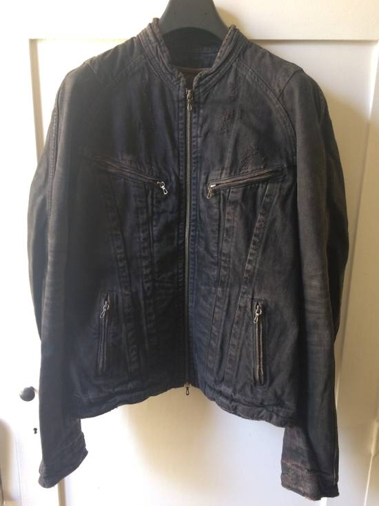 Julius Distressed Denim Jacket Size US M / EU 48-50 / 2 - 1