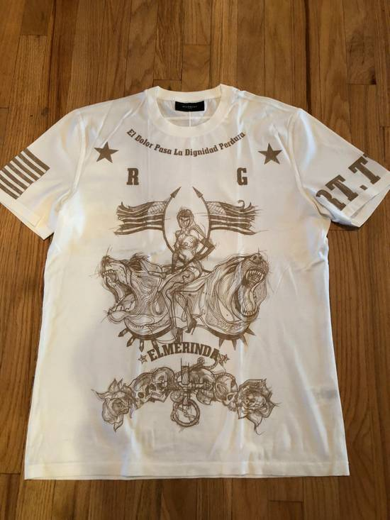 Givenchy Givenchy T Shirt White El Merinda Print Size US L / EU 52-54 / 3