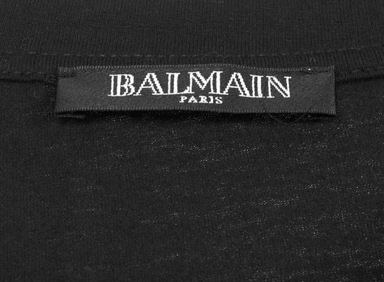 Balmain Original Balmain Crewneck Black Men T-shirt in size L Size US L / EU 52-54 / 3 - 4