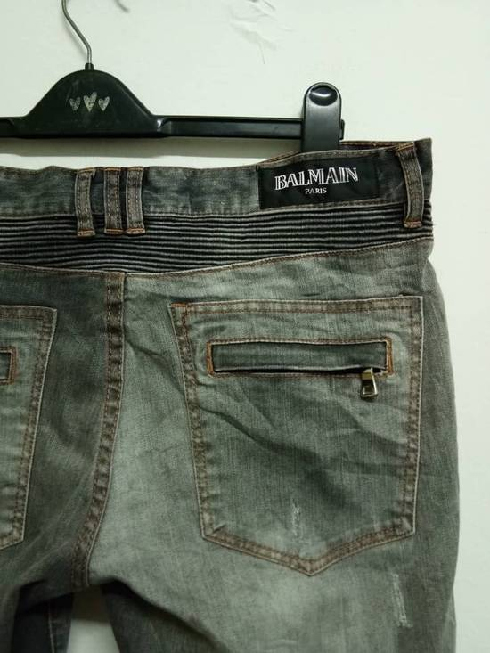 Balmain Rare Grey Balmain Denim Nice Faded Design Size US 36 / EU 52 - 7