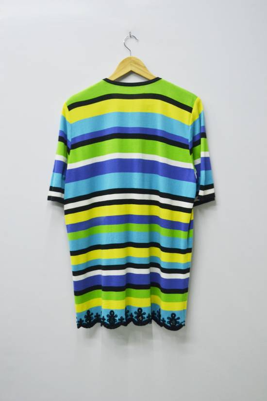 Givenchy Givenchy Shirt Givenchy T Shirt Givenchy Vintage Button Down Multicolor Striped Shirt Vintage Givenchy Glamour Made in Japan Womens Size 44 Size US M / EU 48-50 / 2 - 1