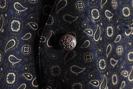 Julius Julius Lang Vest Sleeveless Jacket Polyester Floral Pattern Blue Green 28 XL Size US XL / EU 56 / 4 - 3