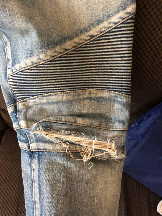Balmain Balmain disrtressed biker jeans Size US 36 / EU 52 - 12