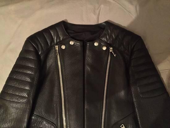 Balmain Leather Biker Jacket Lambskin Original SS12 Brand New Size US M / EU 48-50 / 2 - 12