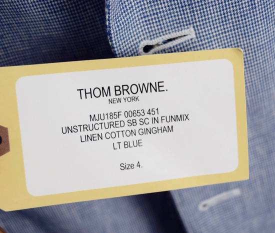 Thom Browne Thom Browne Fun Mix Blazer Men's 4 New Blue Size 42L - 5