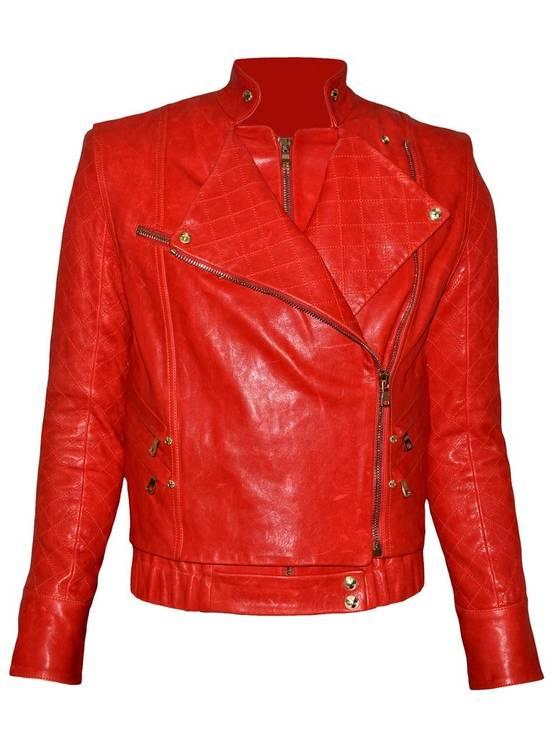 Balmain Layered Biker Leather Jacket Size US M / EU 48-50 / 2 - 1