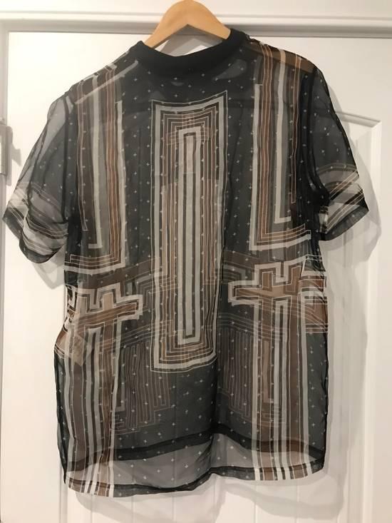 Givenchy Brand New Organza T Shirt With Zipper Size US M / EU 48-50 / 2