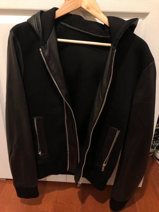 Givenchy Givenchy ss13 neoprene and leather bomber jacket Size US S / EU 44-46 / 1