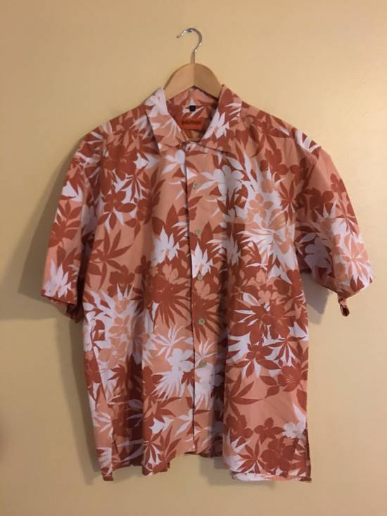 Balmain Floral Print Button Up Shirt Size US XL / EU 56 / 4