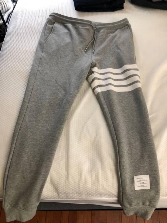 Thom Browne Thom Browne striped grey Jogger sweatpants Size US 32 / EU 48
