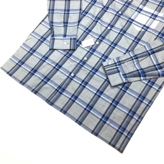 Givenchy Blue Cuban Fit Flannel Shirt NWT Size US M / EU 48-50 / 2 - 4