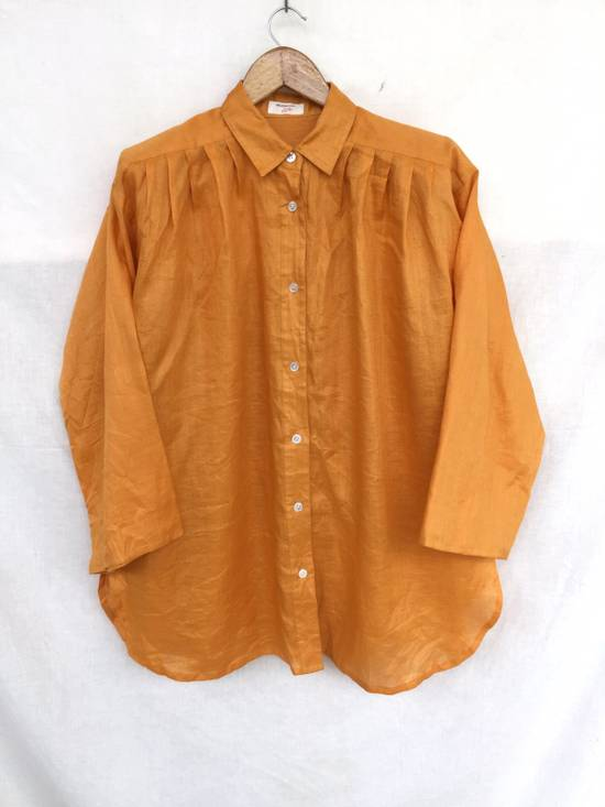 Givenchy Givenchy Dress Shirt Oversized Yellow 27x29:5 Size US XL / EU 56 / 4
