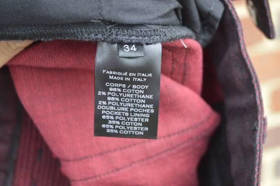 Balmain Bordeaux Waxed Biker Jeans Size US 34 / EU 50 - 6