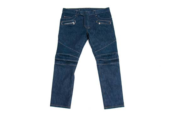 Balmain Denim Bikers Size US 33 - 1