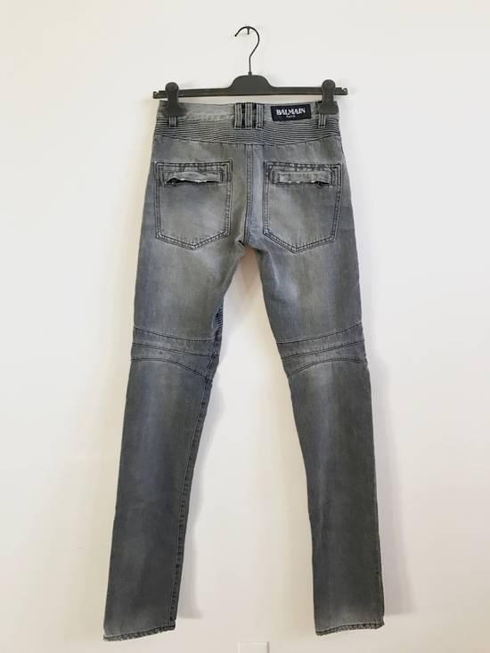 Balmain FW10 Decarnin Biker Jeans Size US 29 - 3
