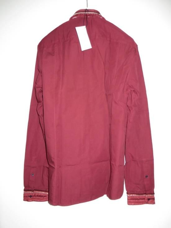 Balmain Embroidered plastron shirt Size US L / EU 52-54 / 3 - 12