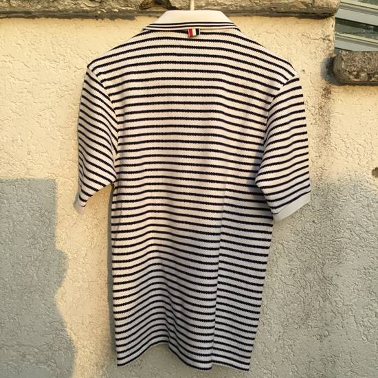 Thom Browne $599 THOM BROWNE POLO SHIRT RIBBED *** NEW *** Size US L / EU 52-54 / 3 - 1