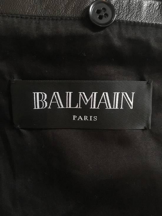Balmain Rare Tiger Chest Biker Jacket Size US S / EU 44-46 / 1 - 15