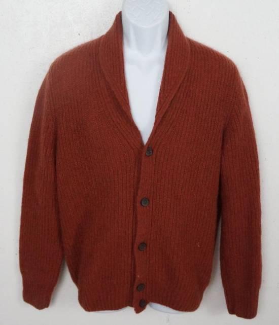 Suitsupply Rust Shawl Cardigan Size US L / EU 52-54 / 3