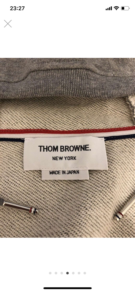 Thom Browne 4 bar hoodie jacket Size US L / EU 52-54 / 3 - 5