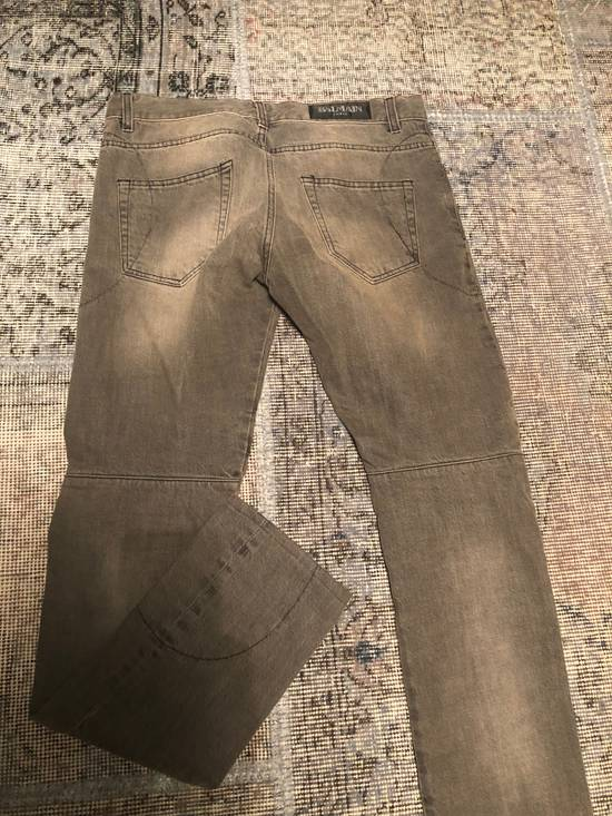 Balmain Balmain Washed Grey Denim Size US 32 / EU 48 - 4