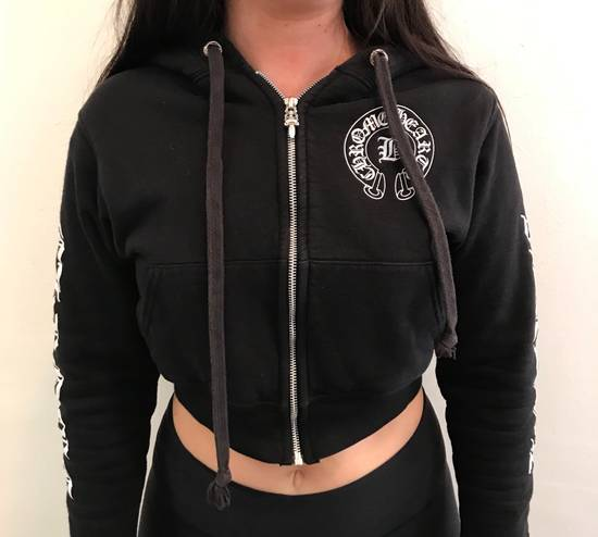 Chrome Hearts Bella Hadid Exclusive Cropped Hoodie Size US M / EU 48-50 / 2 - 5