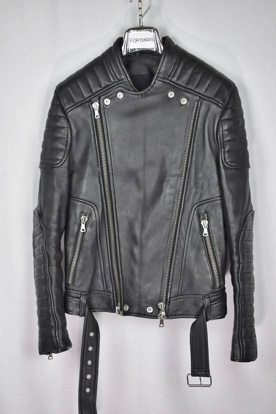 Balmain Custom Tailor Made Leather Jacket in Balmain style Size US S / EU 44-46 / 1 - 1