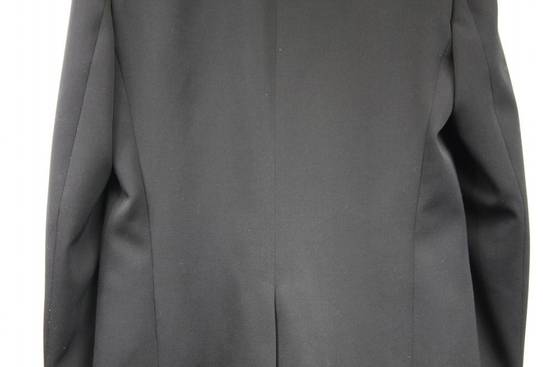 Balmain $2500 Balmain Slim Black One Button Wool Blazer Jacket Blouson Sz 50 48 M Medium Size 40R - 5