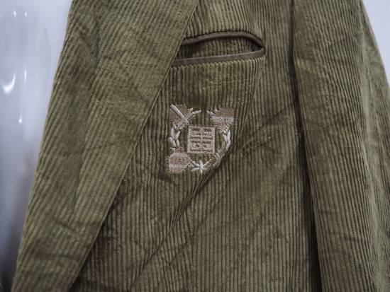 Givenchy Rare Vintage Gentleman Givenchy Paris Embroidered Logo Biker Leather Patch Corduroy Coat Suit Blazer Jacket. Size US M / EU 48-50 / 2 - 1