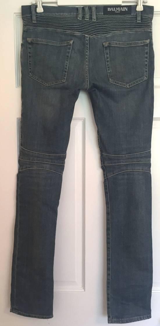 Balmain ss12 Biker jeans (fit 28) Size US 29 - 4