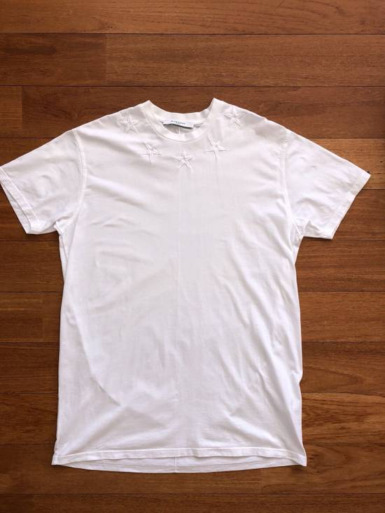 Givenchy Cuba Fit T-shirt White Stars Size US XS / EU 42 / 0 - 1