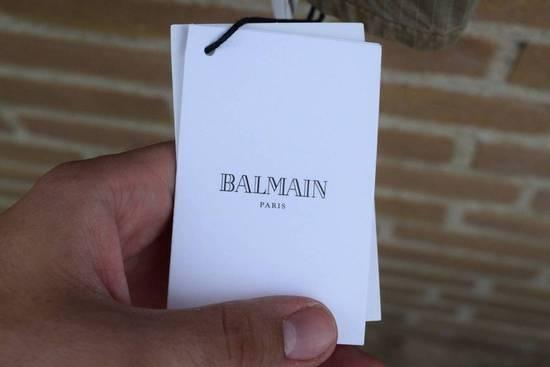 Balmain Balmain Authentic $1890 Cotton Biker Jacket Size M Brand New Condition Size US M / EU 48-50 / 2 - 5