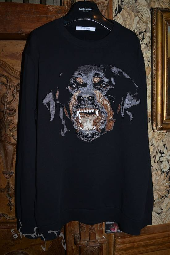 Givenchy Rare iteration Embroided Rotweiller Sweatshirt Size US L / EU 52-54 / 3 - 2