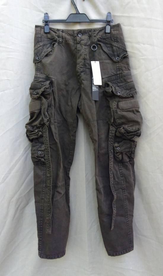 Julius Green Denim Gas Mask Cargo Pants s/s 13 Size US 29