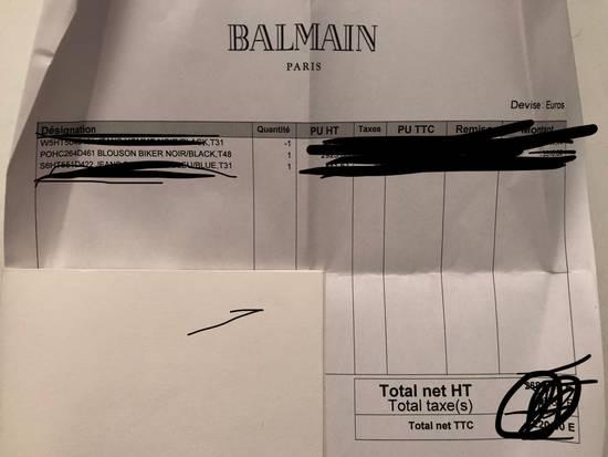 Balmain Classic Leather Jacket Size US M / EU 48-50 / 2 - 5